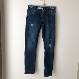 Levis Boyfriend Distressed Jeans Girls Size 12